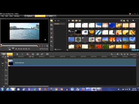 Corel Ultimate X6: Resizing Media