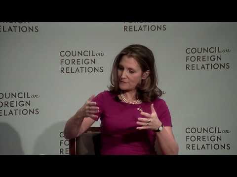 Clip: Freeland on NAFTA and Rules of Origin