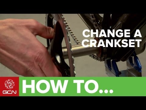 How To Change Your Chainrings and Cranks - GCN's Bike Maintenance Series