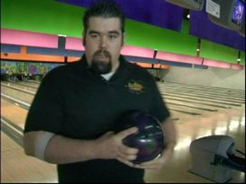 Bowling Basics : How to Hold a Bowling Balls