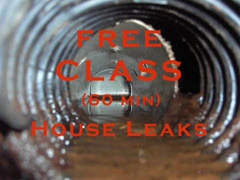 How to Find House Moisture Leaks Simple EASY TRICK Stop Water Intrusion FREE 68 Minute Fun Class