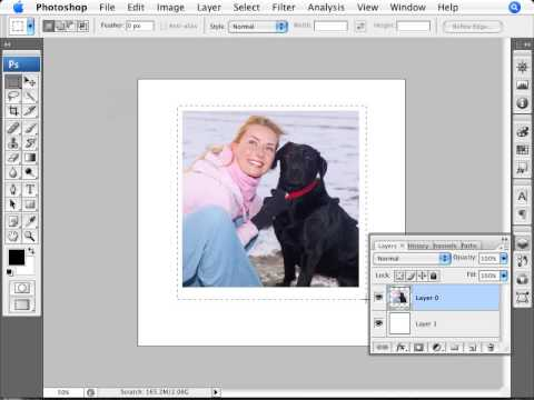 Learn Photoshop - How to Create a Polaroid Photo
