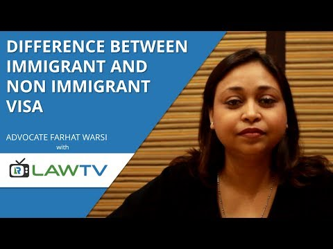 Indian Kanoon - Differences between immigrant and non immigrant visa - LawRato