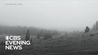 Download Summer weather off to slow start as snow targets the West Video