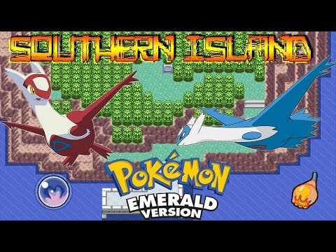 Pokémon Emerald| How to unlock the Southern Island (Glitzer Popping) [Glitch]