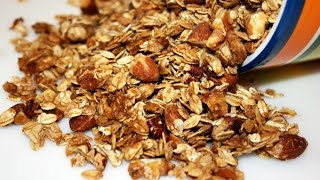 Easiest Granola Ever. Seriously.