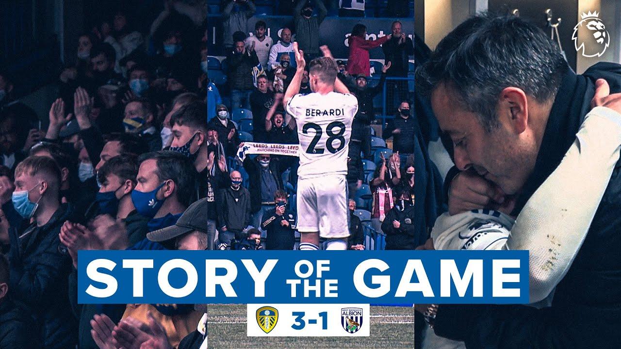 Fans back at Elland Road, Pablo and Berardi say goodbye   Story of the Game   Leeds United 3-1 WBA