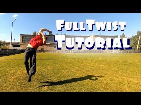 How to Back Full Twist / Back flip 360 Tutorial