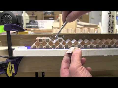 Cosmati Wood Inlay Banding - Part 2