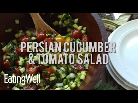 How to Make Persian Cucumber & Tomato Salad