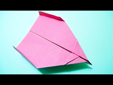 How to make a PAPER AIRPLANE - Paper Airplane that FLY FAR - Best Paper Planes in the World