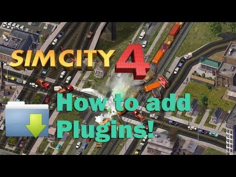 SimCity 4 deluxe/rush hour - How to install plugins (HD)