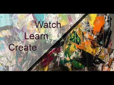 Abstract painting - Learn to free your inner self