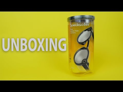 New Snapchat Spectacles V2 unboxing