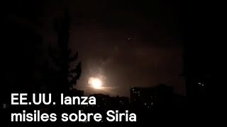 EE.UU. lanza ataque con misiles sobre Damasco, Siria - En Punto con Denise Maerker