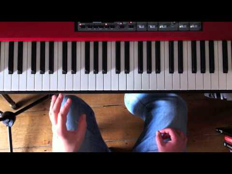 A couple of piano hand independence exercises