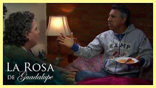 La Rosa de Guadalupe: Nora descubre a su papá con su mejor amiga   Demasiado amor