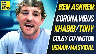 "Ben Askren Rips Colby Covington's Trash Talk, Calls Kamaru Usman ""Worst Promoter In History of MMA"""