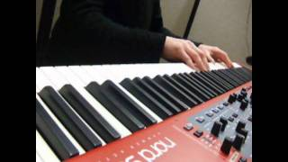 Jingle Bell Rock - Awesome Piano Cover - Nord Stage 2 - MultiCamera