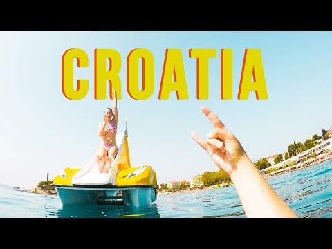 Europe Travel Vlog #4 - Croatia - SPLIT, HVAR, MLJET, DUBROVNIK 🌎(2017)