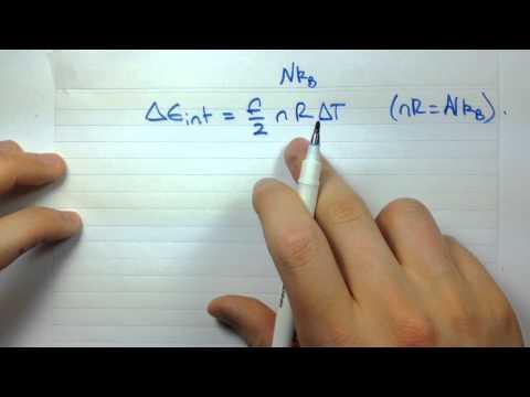 10 5 Molar Heat Capacity Example