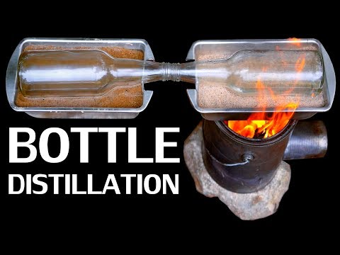 How To Turn Salt Water Into Fresh Water (Simple Improvised Distillation)