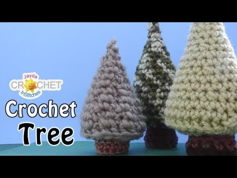 Crochet Tree Tutorial - Toys and Christmas Decorations