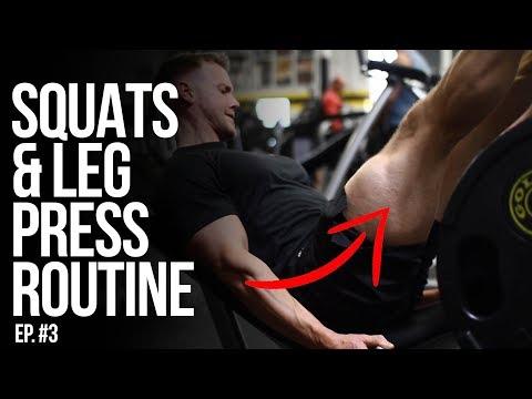Squats & Leg Presses | Rob Riches | Ep. 3