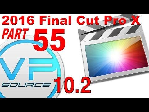 55. How to CREATE CUSTOM TEXT & TITLES Final Cut Pro X 10.2.3 (2016)