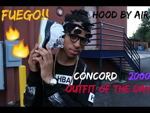 MillionDollarOutfit! | OOTD | Hood By Air | 2000 Concord 11 | Supreme | & MORE!