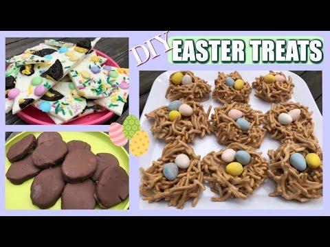 EASY EASTER TREATS|| 3 DIY Easter Goodies!
