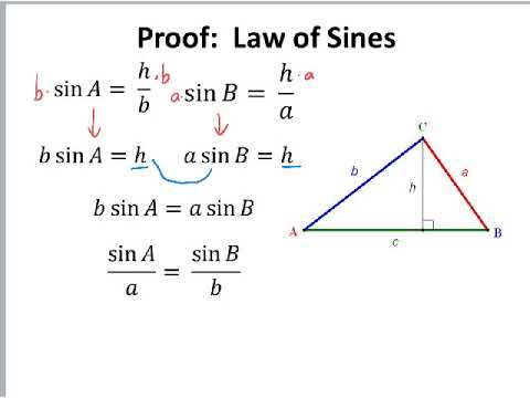Law of Sines Proof