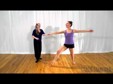 Tracie Stanfield: Contemporary Jazz Jumps and Leaps Promo