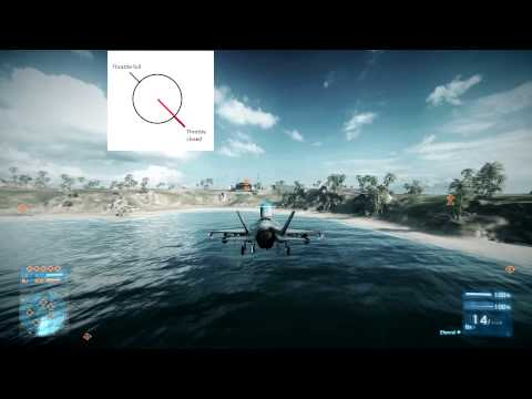 BF3 : how to VTOL and hover with Joystick