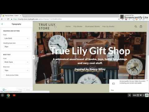 Shopify tutorial - How to change your store logo