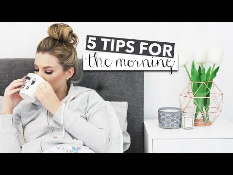 5 Tips For How To Be A Morning Person
