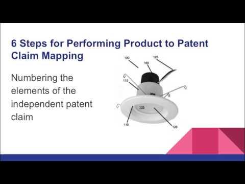 Patent Claim Analysis by Preparing Product Patent Claim Chart