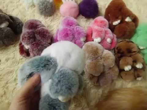 Bunny Bag Charm | Kopenhagen | Ear Ball Pom Pom | Rabbit/ Kelinci