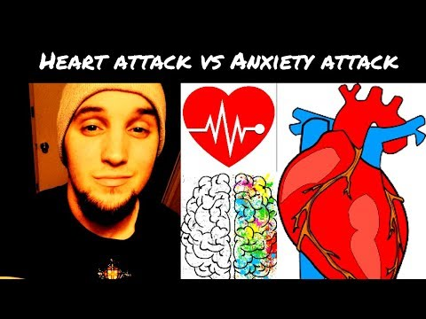 Difference Between Heart Attack and Anxiety Attack Explained!