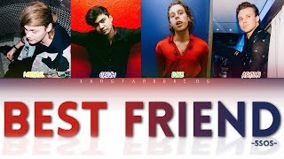 5SOS - Best Friend // color coded lyrics