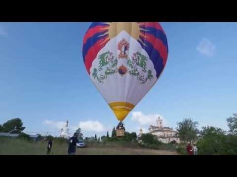 The Tibet Hot Air Balloon