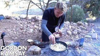 Gordon Ramsay Makes A Mushroom Omelette In Morocco | Scrambled