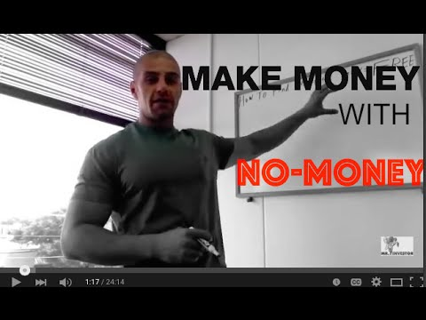 How to make money with no money in America.