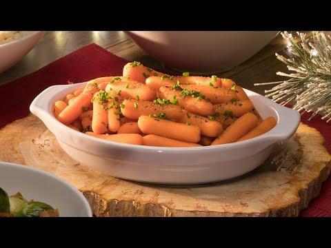 Simple for the Season - Carrots with Cinnamon and Honey Glaze
