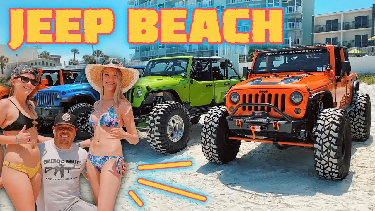 JEEP BEACH - Why You Don't Want to Miss It!
