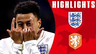 Netherlands 0-1 England | Lingard Scores Winner in Promising Night for England | Official Highlights