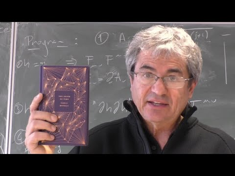 Carlo Rovelli: The Nature of Time