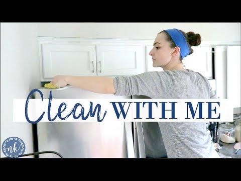 CLEAN WITH ME | MOM OF 3|  Inspiration + Motivation for Random De-Cluttering! | Natalie Bennett