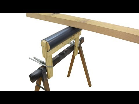Making Outfeed/ Infeed Support Rollers
