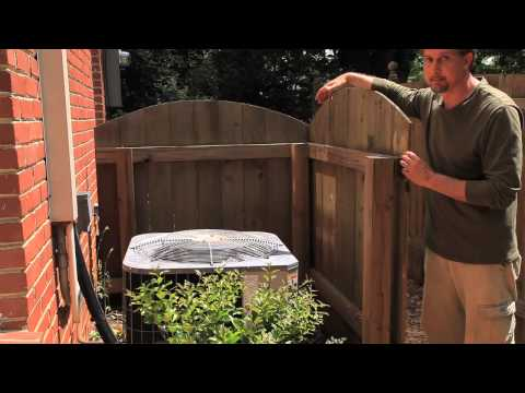 How to Hide the HVAC Condenser for Landscaping : Landscaping Materials & Techniques